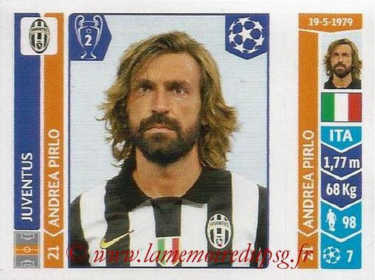 2014-15 - Panini Champions League N° 061 - Andrea PIRLO (Juventus Turin)