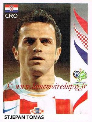 2006 - Panini FIFA World Cup Germany Stickers - N° 403 - Stjepan TOMAS (Croatie)