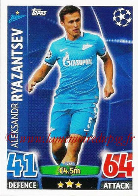 2015-16 - Topps UEFA Champions League Match Attax - N° 265 - Aleksandr RYAZANTSEV (FC Zenit)