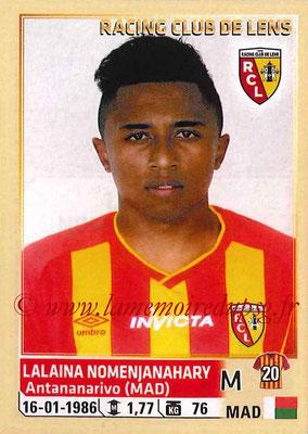 2014-15 - Panini Ligue 1 Stickers - N° 137 - Lalaina NOMENJANAHARY (RC Lens)