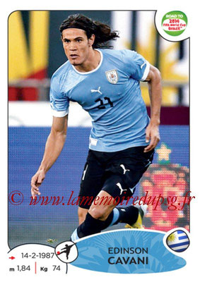 2014 - Panini Road to FIFA World Cup Brazil Stickers - N° 086 - Edinson CAVANI (Uruguay)