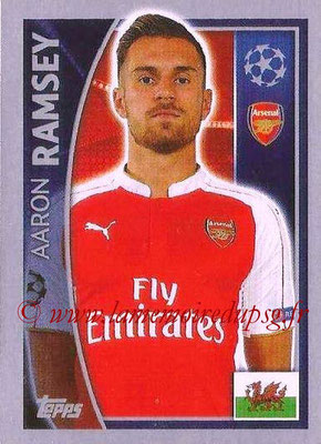 2015-16 - Topps UEFA Champions League Stickers - N° 400 - Aaron RAMSEY (Arsenal FC)