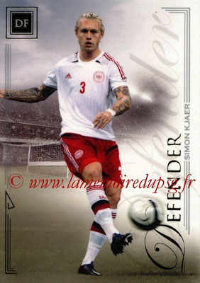 2014 - Futera World Football Unique - N° 018 - Simon KJAER (Defender)