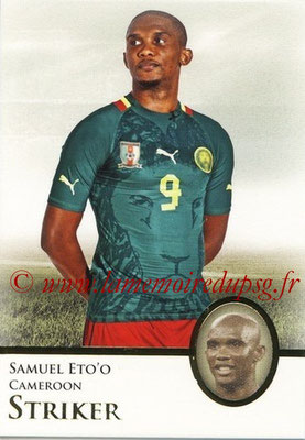 2013 - Futera World Football Unique - N° 075 - Samuel ETO'O (Cameroun) (Striker)