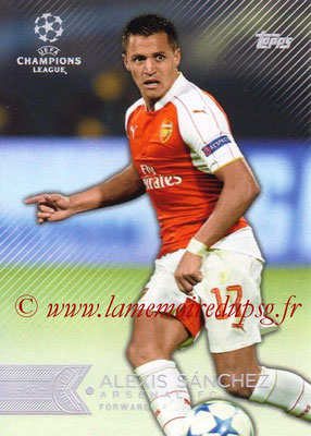 2015-16 - Topps UEFA Champions League Showcase Soccer - N° 144 - Alexis SANCHEZ (Arsenal FC)