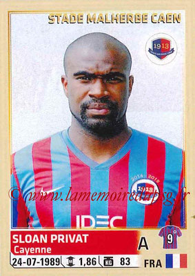 2014-15 - Panini Ligue 1 Stickers - N° 069 - Sloan PRIVAT (SM Caen)