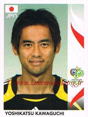 2006 - Panini FIFA World Cup Germany Stickers - N° 437 - Yoshikatsu KAWAGUCHI (Japon)