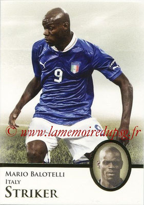 2013 - Futera World Football Unique - N° 064 - Mario BALOTELLI (Italie) (Striker)
