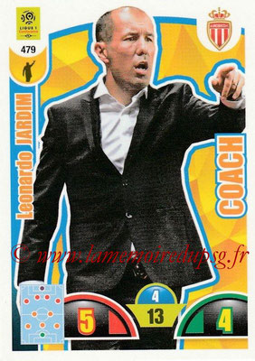 2018-19 - Panini Adrenalyn XL Ligue 1 - N° 479 - Leonardo JARDIM (Monaco) (Coach)