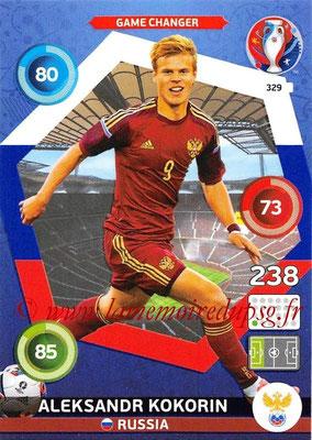 Panini Euro 2016 Cards - N° 329 - Aleksandr KOKORIN (Russie) (Game Changer)