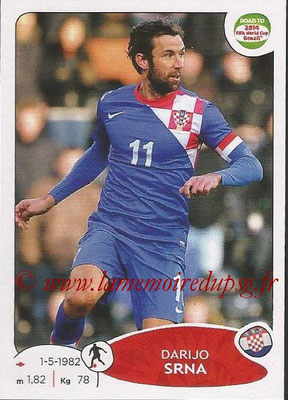2014 - Panini Road to FIFA World Cup Brazil Stickers - N° 294 - Darijo SRNA (Croatie)