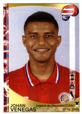 Panini Copa America Centenario USA 2016 Stickers - N° 080 - Johan VENEGAS (Costa Rica)