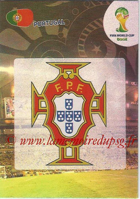 2014 - Panini FIFA World Cup Brazil Adrenalyn XL - N° 268 - Logo Portugal