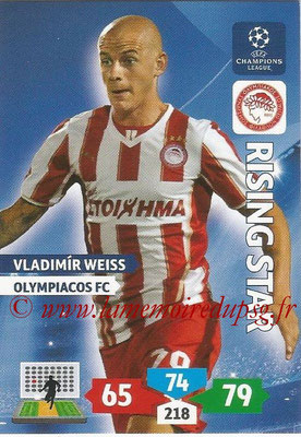 2013-14 - Adrenalyn XL champions League N° 204 - Vladimir WEISS (Olympiacos FC) (Rising Star)