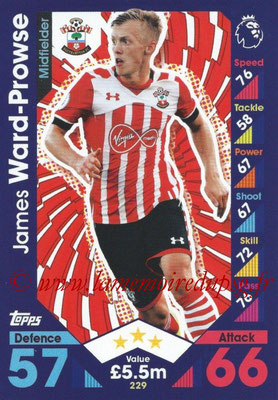 2016-17 - Topps Match Attax Premier League - N° 229