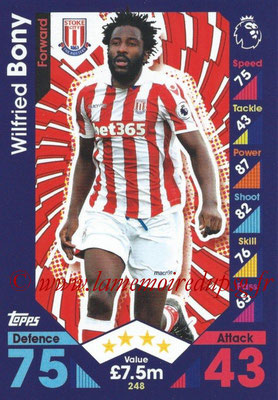 2016-17 - Topps Match Attax Premier League - N° 248
