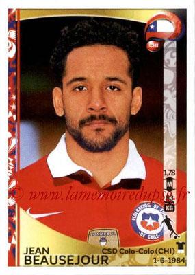 Panini Copa America Centenario USA 2016 Stickers - N° 341 - Jean BEAUSEJOUR (Chili)