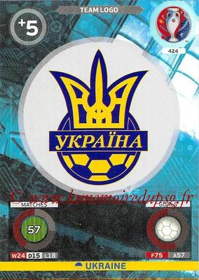 Panini Euro 2016 Cards - N° 424 - Logo de Ukraine (Logo Team)
