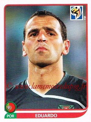 2010 - Panini FIFA World Cup South Africa Stickers - N° 545 - EDUARDO (Portugal)
