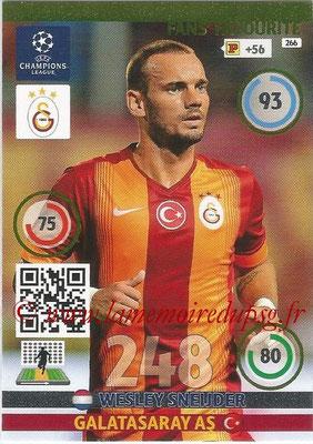 2014-15 - Adrenalyn XL champions League N° 266 - Wesley SNEIJDER (Galatasaray AS) ( Fans' Favourite)