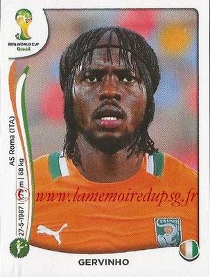 2014 - Panini FIFA World Cup Brazil Stickers - N° 236 - GERVINHO (Côte d'Ivoire)