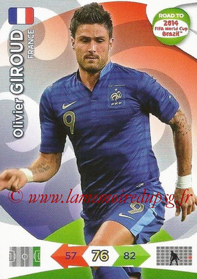 2014 - Panini Road to FIFA World Cup Brazil Adrenalyn XL - N° 099 - Olivier GIROUD (France)