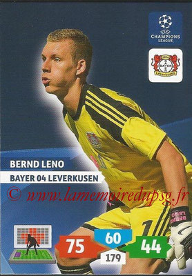 2013-14 - Adrenalyn XL champions League N° 073 - Bernd LENO (Bayer 04 Leverkusen)