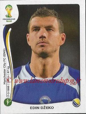 2014 - Panini FIFA World Cup Brazil Stickers - N° 449 - Edin DZEKO (Bosnie Herzegovine)