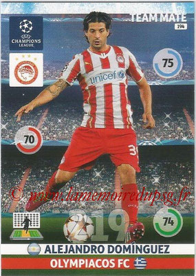 2014-15 - Adrenalyn XL champions League N° 194 - Alejandro DOMINGUEZ (Olympiacos FC)