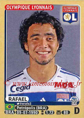 2015-16 - Panini Ligue 1 Stickers - N° 202 - RAFAEL (Olympique Lyonnais)