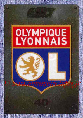 2015-16 - Panini Ligue 1 Stickers - N° 193  - Ecusson Olympique Lyonnais