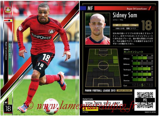 Panini Football League 2013 - PFL01 - N° 151 - Sidney Sam ( Bayer 04 Leverkusen )