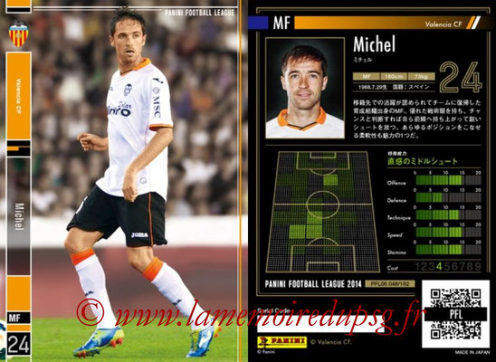 Panini Football League 2014 - PFL06 - N° 048 - MICHEL (FC Valence)
