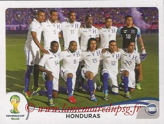 2014 - Panini FIFA World Cup Brazil Stickers - N° 394 - Equipe Honduras
