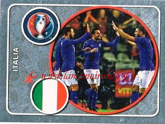 Panini Euro 2016 Stickers - N° 459 - Équipe d'Italie