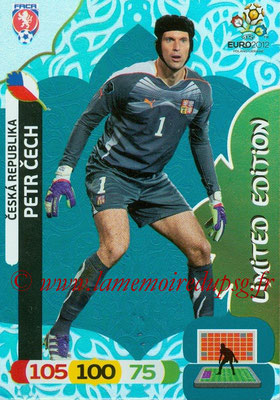 Panini Euro 2012 Cards Adrenalyn XL - N° LE01 - Petr CECH (République Tchèque) (Limited Edition)