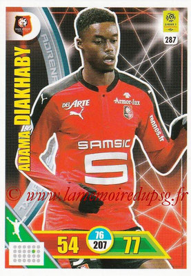2017-18 - Panini Adrenalyn XL Ligue 1 - N° 287 - Adama DIAKHABY (Rennes)