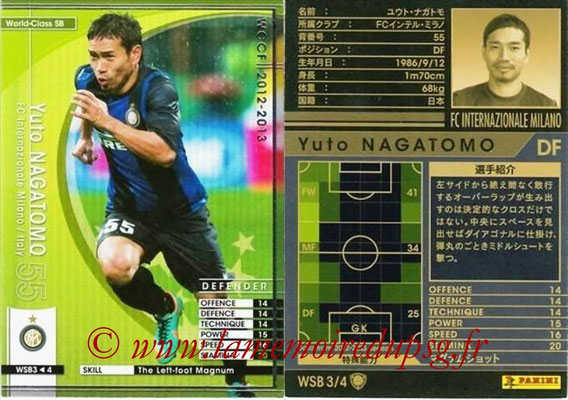 2012-13 - WCCF - N° WSB3 - Yuto NAGATOMO (Inter Milan) (World Class SB)