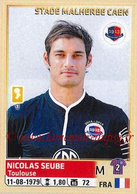 2014-15 - Panini Ligue 1 Stickers - N° 065 - Nicolas SEUBE (SM Caen)