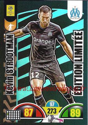 2018-19 - Panini Adrenalyn XL Ligue 1 - N° LE-KS - Kevin STROOTMAN (Marseille) (Edition Limitée)
