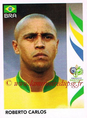 2006 - Panini FIFA World Cup Germany Stickers - N° 385 - Roberto CARLOS (Brésil)