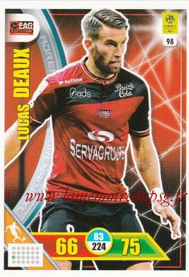 2017-18 - Panini Adrenalyn XL Ligue 1 - N° 098 - Lucas DEAUX (Guingamp)