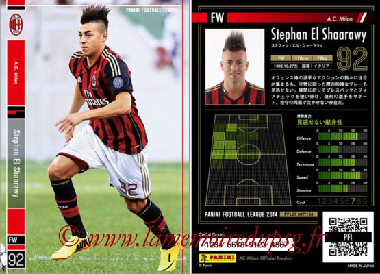 Panini Football League 2014 - PFL07 - N° 007 - Stephan EL SHAARAWY (Milan AC)