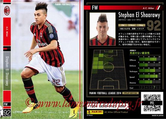 Panini Football League 2014 - PFL07 - N° 007 - Stephan EL SHAARAWY (Milan AC)