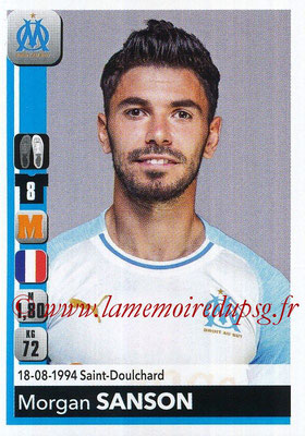 2018-19 - Panini Ligue 1 Stickers - N° 214 - Morgan SANSON (Marseille)