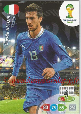 2014 - Panini FIFA World Cup Brazil Adrenalyn XL - N° 212 - Davide ASTORI (Italie)