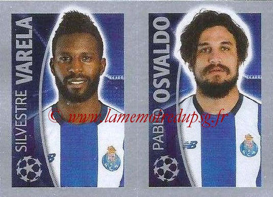 2015-16 - Topps UEFA Champions League Stickers - N° 478 - Silvestrer VARELA + Pablo OSVALDO (FC Porto)