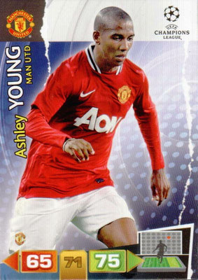 2011-12 - Panini Champions League Cards - N° 153 - Ashley YUNG (Manchester United FC)