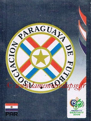 2006 - Panini FIFA World Cup Germany Stickers - N° 113 - Ecusson Paraguay