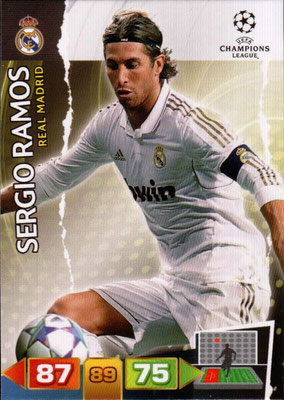 2011-12 - Panini Champions League Cards - N° 224 - Sergio RAMOS (Real Madrid CF)